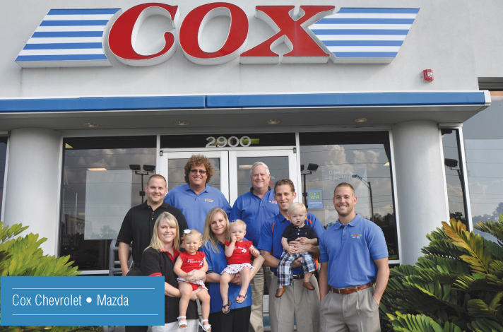 Cox Chevrolet Bradenton >> Portraits Of Success Bradenton Herald Coxautoblog Com